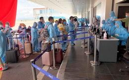 Hơn 300 công dân Việt Nam đầu tiên từ Angola hồi hương