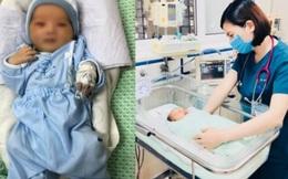 Bé sơ sinh bị bỏ rơi ở hố ga: Đã cai máy thở, không còn phải dùng thuốc vận mạch