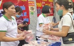 Thịt lợn neo giá cao, vẫn có những điểm bán bình ổn với giá 120k/kg