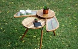 Thiết kế độc đáo như chú bọ cánh cứng, chiếc bàn trà dễ thương khiến chị em mê mẩn