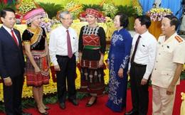 Thường trực Ban Bí thư Trần Quốc Vượng dự Đại hội điểm đảng bộ cấp trên cơ sở tỉnh Yên Bái