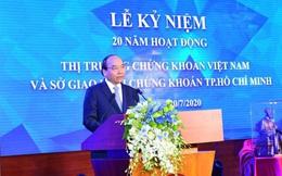 Thủ tướng nêu 7 nhiệm vụ để phát triển thị trường chứng khoán