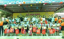"""Đoàn """"Caravan tay lái nữ lần 2"""" mang niềm vui cho trẻ em, hộ nghèo Đồng Tháp"""