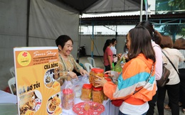 Phiên chợ sạch dành cho chị em hội viên phụ nữ TPHCM