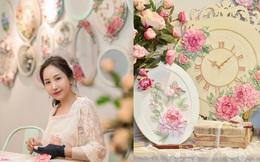 Nghệ sĩ Giáp Vân Khanh và tình yêu nghệ thuật vẽ điêu khắc