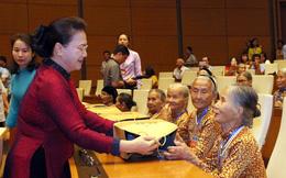 Hình ảnh người mẹ Việt Nam anh hùng đã trở thành tượng đài vĩ đại trong lòng nhân dân và bạn bè thế giới