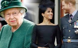 """Nữ hoàng nhận ra """"âm mưu"""" của nàng dâu Meghan từ sớm nhưng vẫn thương cháu trai"""