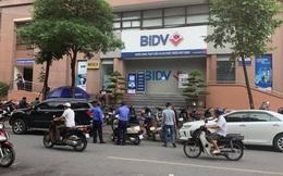 Hà Nội: Cướp hàng trăm triệu đồng tại chi nhánh ngân hàng