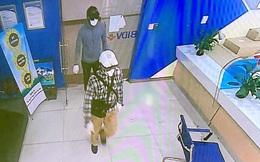 Vụ cướp chi nhánh Ngân hàng BIDV: Lộ diện hình ảnh 2 nghi phạm