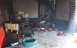 Vụ 4 mẹ con trong căn nhà khóa trái cửa bốc cháy ở Hà Tĩnh: Cả 3 cháu bé đã tử vong