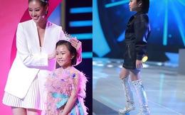 """Hoa hậu Hoàn vũ Việt Nam quyết định """"nhường vương miện"""" cho bé gái cao thủ này"""