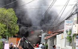 Hỏa hoạn thiêu rụi gần chục căn nhà ở thành phố Rạch Giá