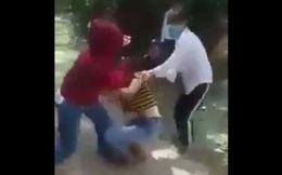 Cảnh cáo hai nữ sinh có hành vi đánh bạn trong rừng