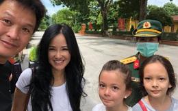 Diva Hồng Nhung và 2 con rời khu cách ly, trở về cuộc sống bình thường
