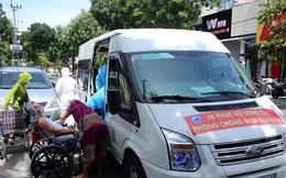 Những chuyến xe nghĩa tình đưa người bệnh ở Đà Nẵng về nhà