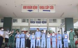 Thêm 12 người mắc Covid-19 tại Đà Nẵng, Quảng Nam  khỏi bệnh, trong đó có bé 8 tháng tuổi