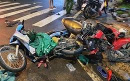 Nữ tài xế 9x lái Camry tông hàng loạt xe máy chờ đèn đỏ tại TPHCM