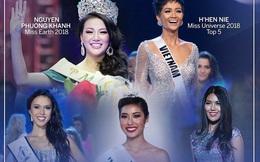 5 cô gái Việt thành công nhất tại các cuộc thi sắc đẹp thế giới trong 1 thập kỷ qua