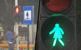 Đưa hình phụ nữ trên đèn giao thông để thúc đẩy bình đẳng giới