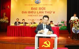 Thứ trưởng Phạm Anh Tuấn được bầu làm Bí thư Đảng ủy Bộ Thông tin và Truyền thông
