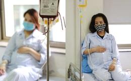 Người mẹ mang thai khắc khoải chờ máu trong dịch bệnh