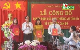 Chủ tịch Hội LHPN tỉnh Đăk Nông được điều động làm Trưởng ban Dân vận Tỉnh ủy