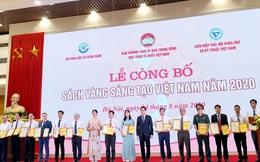 Sách vàng Sáng tạo Việt Nam 2020 vinh danh 75 công trình, giải pháp sáng tạo khoa học, công nghệ