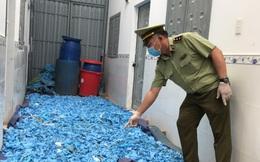 Bình Dương: Phát hiện 21 tấn găng tay y tế, áo chống dịch đã qua sử dụng đang được tái chế