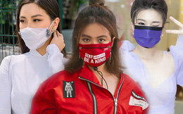Sao Việt cực ngầu với khẩu trang độc lạ