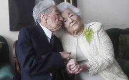 Kỷ lục Guinness ghi nhận cặp vợ chồng già nhất thế giới