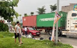Hà Nội: Truy tìm tài xế container lấn làn, vượt ẩu cán chết cô gái trẻ rồi bỏ chạy