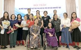 100% phụ nữ khuyết tật được trợ giúp