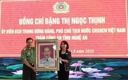 Phó Chủ tịch nước Đặng Thị Ngọc Thịnh thăm và làm việc tại tỉnh Nghệ An