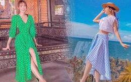Học Minh Hằng cách phối váy và giày giúp ăn gian chiều cao