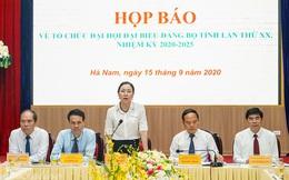 Đại hội đảng bộ cấp tỉnh nhiệm kỳ 2020 - 2025 đầu tiên trong cả nước sẽ diễn ra vào tuần tới