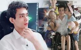 Tai nạn giao thông sau ly hôn, ông bố ở Hà Nội ngồi xe lăn một mình nuôi con