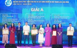 Vinh danh 66 tác phẩm báo chí xuất sắc về Xây dựng Đảng và phát triển văn hóa Hà Nội