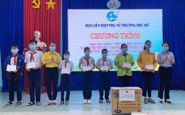 Phụ nữ Bình Dương trao học bổng cho học sinh nghèo Bình Phước