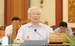 Tổng Bí thư, Chủ tịch nước Nguyễn Phú Trọng muốn TP.HCM là mẫu mực về chuẩn bị Đại hội Đảng