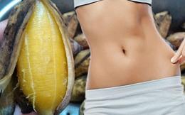 Ăn mãi không béo, lo gì mỡ thừa khi bạn biết 8 cách giảm cân bằng chuối này rồi?