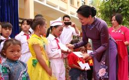 Chủ tịch Hội LHPN Việt Nam Hà Thị Nga dự khai giảng năm học 2020 - 2021 tại Lào Cai