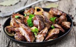 Ăn gan động vật đúng cách để không gây béo phì, tăng acid uric