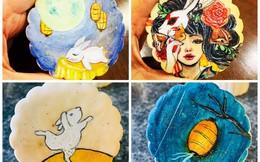 Thu nhập vài chục triệu đồng/tháng từ làm bánh, tạo ra mẫu bánh Trung thu vẽ tay
