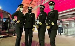 Đội phi công nữ Ấn Độ bay qua Bắc Cực trên tuyến đường hàng không dài nhất thế giới