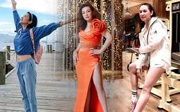 Việt Trinh diện croptop, Phi Nhung mặc váy xẻ ở tuổi U50