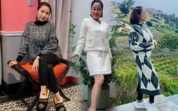 """Tập tành miệt mài để có dáng đẹp, Ốc Thanh Vân vẫn béo ú vì mặc """"độn"""" quần áo tránh rét"""