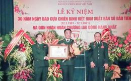 Báo Cựu Chiến binh Việt Nam đón nhận Huân chương Lao động hạng Nhất
