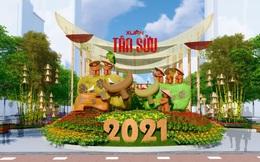 Khách thăm quan Đường hoa Nguyễn Huệ Tết Tân Sửu 2021 sẽ phải đeo khẩu trang