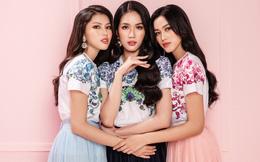 Hoa hậu Đỗ Thị Hà rạng rỡ bên 2 Á hậu