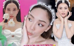 """3 mỹ nhân Việt - Hàn """"đụng hàng"""" khi cùng diện cài tóc ngọc trai"""